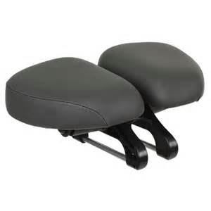 Comfort Bicycle Seat New Dual Adjustable Pad Bicycle Seat Easyseat Deluxe Or