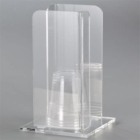 porta bicchieri portabicchieri in plexi trasparente like water 11 5x11