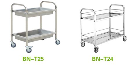 restaurant dining room leftover stainless steel serving cosbao stainless steel restaurant dining room trolley two
