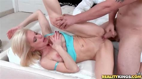 Skinny Milf Lets Him Fuck Her Throat And Wet Pussy Milf Porn