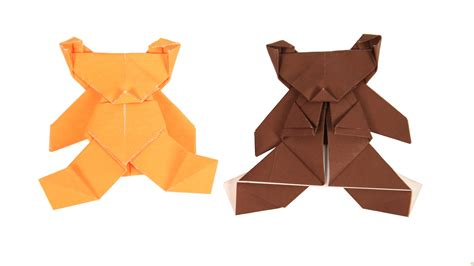 Origami Bears - origami how to make origami
