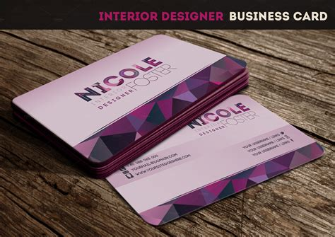 interior designer business card template interior designer business card business card templates