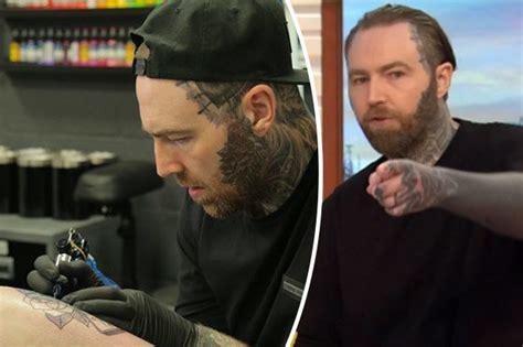 tattoopictures tv good morning britain ed sheeran tattooist slates idiot