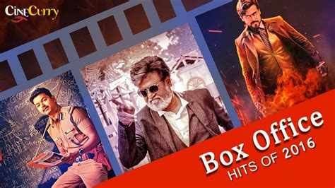 box office 2016 hits top 10 box office hits tamil movies of 2016 youtube