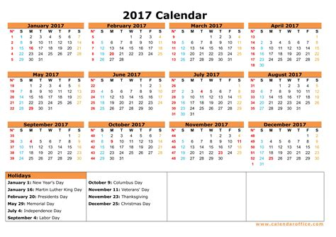 download 2017 yearly calendar excel 2017 calendar 2017 calendar printable download