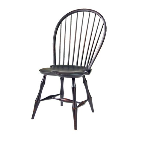 Winsor Chair by D R Dimes Bowback Side Chair Bamboo