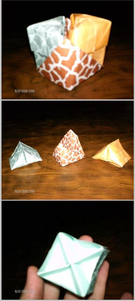 Origami Puzzle Box - origami puzzle box by gwml on deviantart
