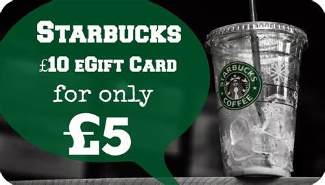 Starbucks E Gift Card - free 5 starbucks egift card when you buy a 10 egift mega deals and coupons