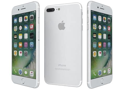 apple iphone 7 plus 32gb silver podmall