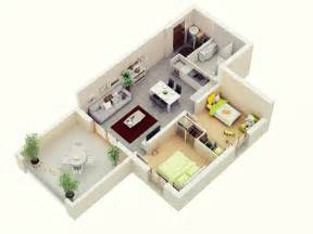 Compact House Designs Layouts 25 More 2 Bedroom 3d Floor Plans