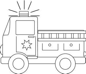 fire truck coloring pages to download and print for free clip art black and white firetruck clipart image black