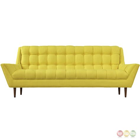 Button Tufted Sofa Smileydot Us Tufted Upholstered Sofa