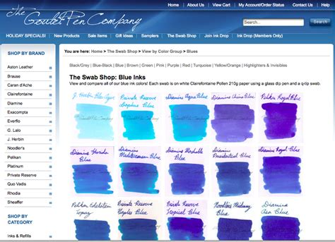 blue names shades of blue names of colors images