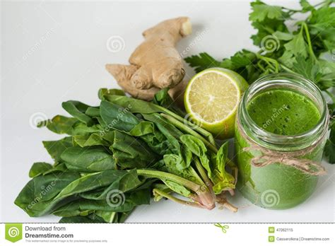 Parsley Green Smoothie Detox by Detox Green Smoothie Stock Photo Image 47062115