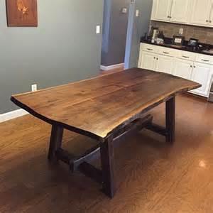 walnuss tisch best 25 live edge table ideas on wood