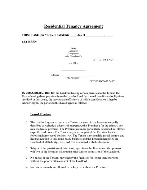 6 sle room rental agreement teknoswitch