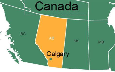 map of canada showing calgary interactive maps 86 larch learning solutions