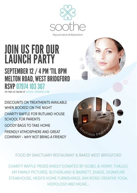 Launch Event Flyer