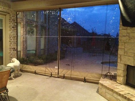 Vinyl Patio Enclosures Clear Vinyl Patio Enclosure Weather Curtains Glaves