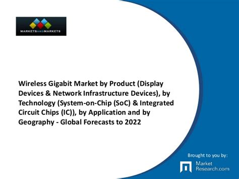 integrated circuit and application wireless gigabit market by product display devices network infrast