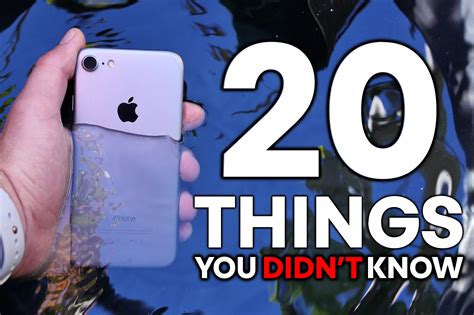20 things you didn t know about your favorite classic hollywood iphone 7 20 things you didn t know youtube