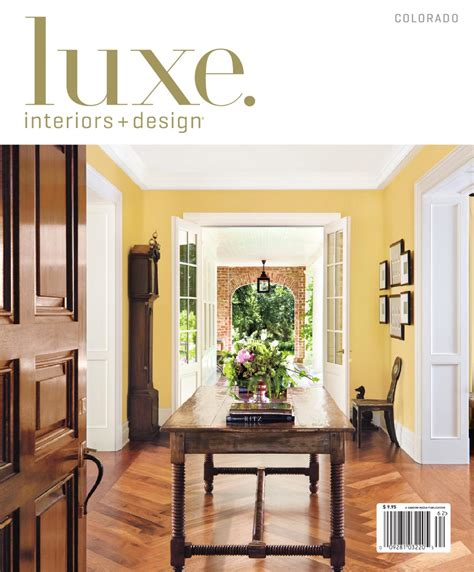 luxe home design inc issuu luxe interior design colorado by sandow media