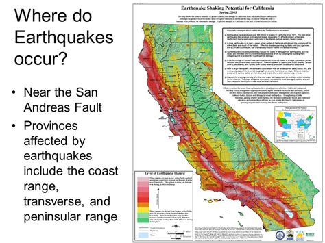 earthquake occur maps ppt video online download