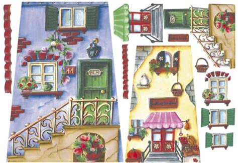 Decoupage House - carte per decoupage