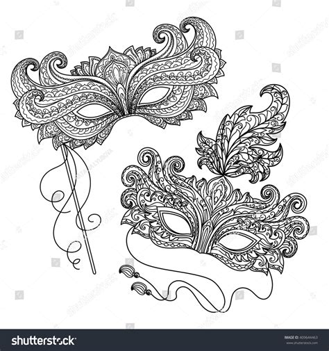 deb s doodle do coloring book two books vector black white illustration design element vectores en
