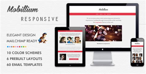 responsive newsletter templates 10 responsive email newsletter templates you can
