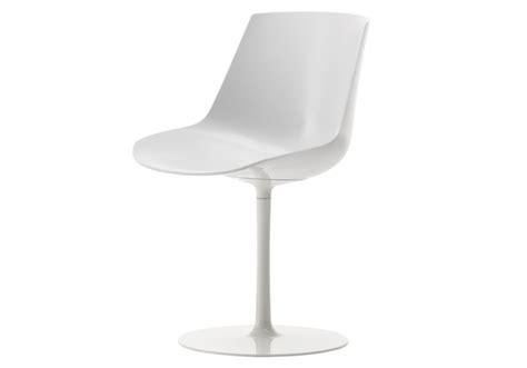 flow chair sedia su stelo mdf italia milia shop