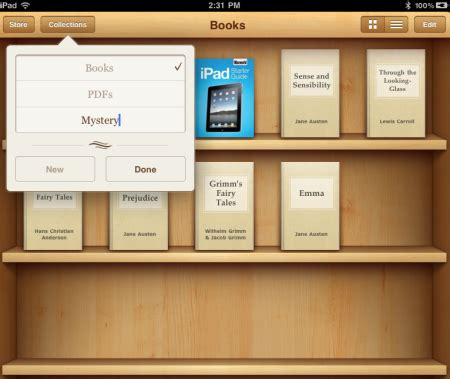 manage ibooks collections in ios the mac observer