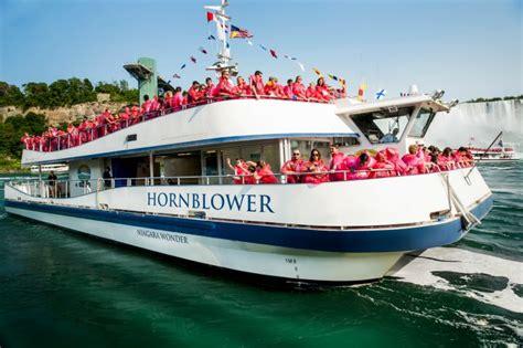 niagara falls boat tour april hornblower niagara cruises opens april 30 for its second