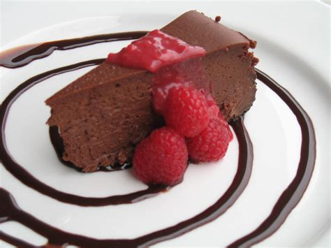 chocolate raspberry raspberry and dark chocolate cheesecake recipe dishmaps