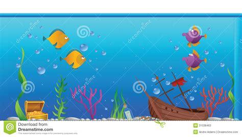 aquarium design drawing aquarium fishtank stock vector illustration of tropical