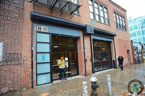 Get a delicious cup of coffee at the New York Blue Bottle Coffee Bar   New York City Travel Tips