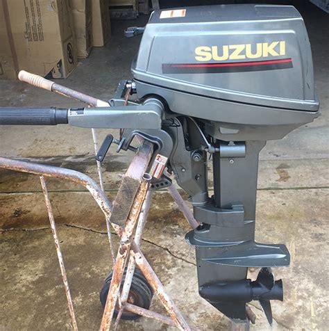 Used Suzuki Boat Motors Used 1996 Suzuki 8 Hp Outboard Motor For Sale Suzuki Boat