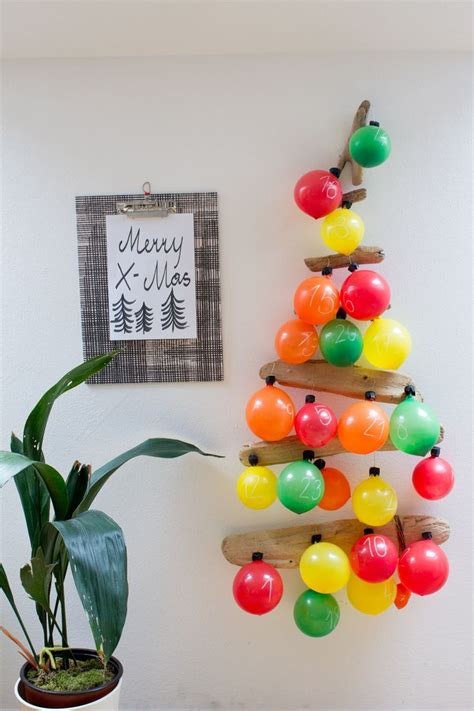 Craft Advent Calendars Creative Advent Calendars Crafts Balloon