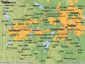 arlington map and arlington satellite image
