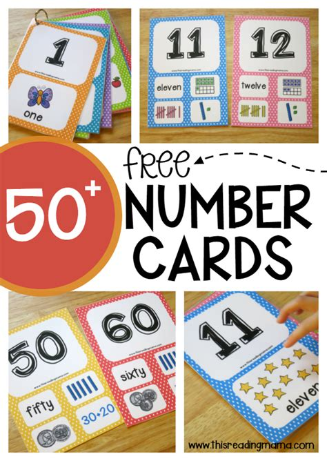 Gift Card Numbers Free - free number cards 3 levels this reading mama