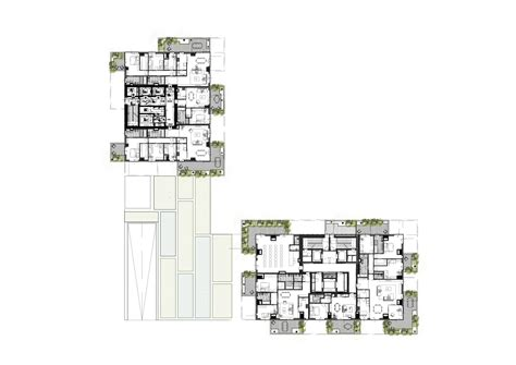 Floor Plan Studio Apartment by Galeria De Edif 237 Cio Bosco Verticale Boeri Studio 18