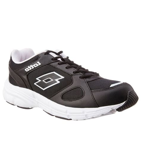 lotto sports shoes lotto black sports shoes price in india buy lotto black