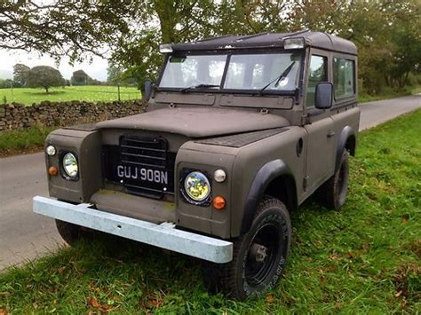 land rover series 3 road buy used landrover defender series 3 with road extras