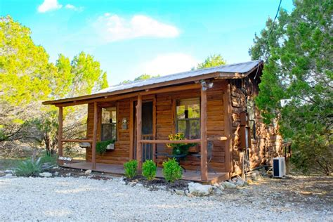 Creek Log Cabin by Cabins At Smith Creek Wimberley Log Cabins