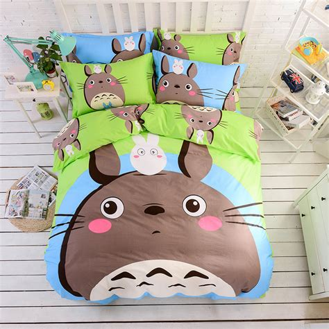 totoro bed set popular totoro bed set buy cheap totoro bed set lots from