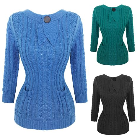 Ca161 New Rope Knit Top cable knit vintage top tops starlet vintage