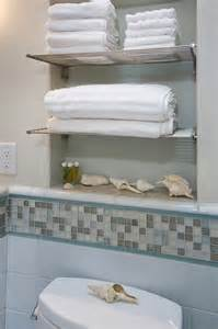 bathroom chrome shelves bathroom with towel niche and chrome shelves