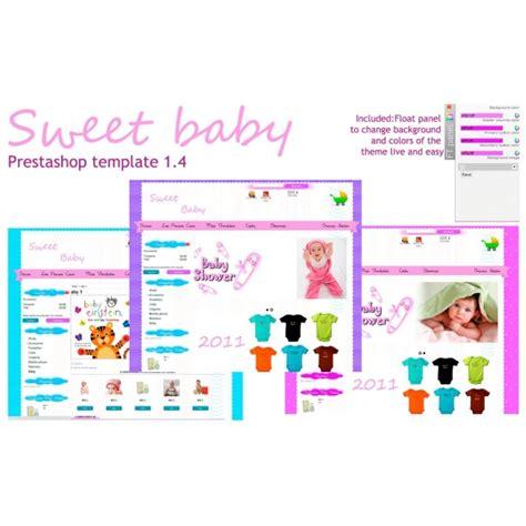 prestashop themes design tutorial sweetbaby prestashop template