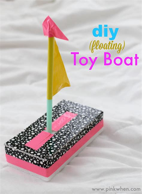 crafts for diy boat crafts pinkwhen
