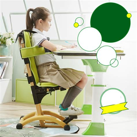posture correcting chair aliexpress buy foot pedal lifting children sitting